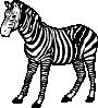 free vector Zebra clip art