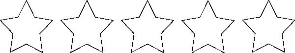 free vector Zero Stars clip art