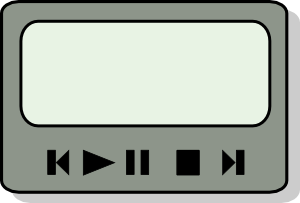 free vector Zinf Media Player Gui clip art