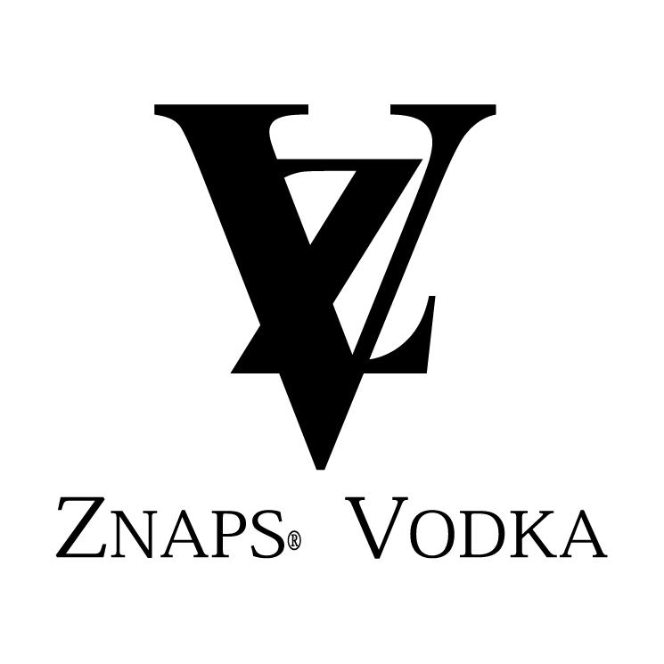 free vector Znaps vodka