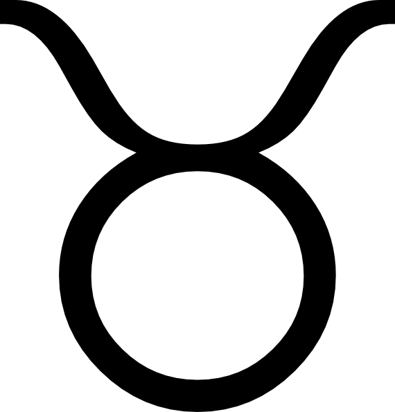 free vector Zodiac Taurus clip art