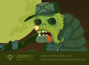 free vector Zombie Vector [Gaaaaa2]