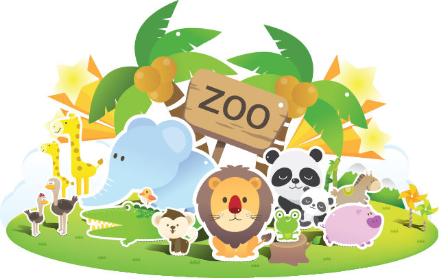 free vector Zoo Cute Vector
