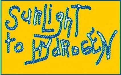 free vector Unsprayed Graffiti: SUNLIGHT TO HYDROGEN