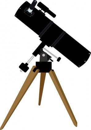 free vector Reflector telescope