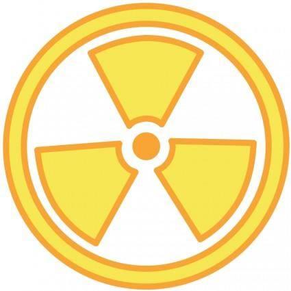 free vector Radioactive Warning