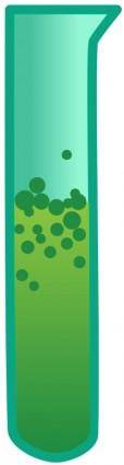 free vector Bubbling Test Tube