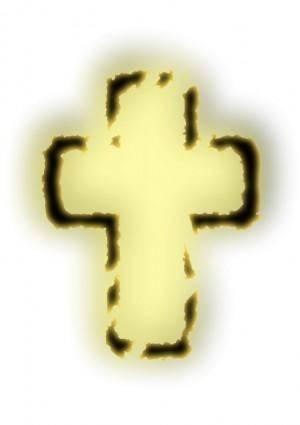 free vector Glowing cross