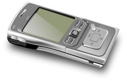 free vector Cell phone - close