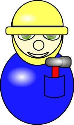 free vector Construction Worker