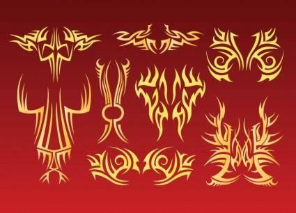 free vector Tribal Tattoo Vectors