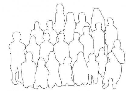 free vector Group of People