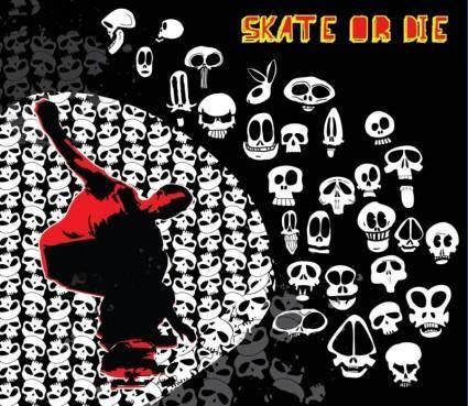 free vector Skate Or Die