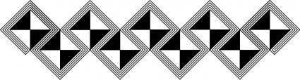 African pattern horizontal