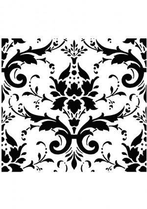 free vector Damask