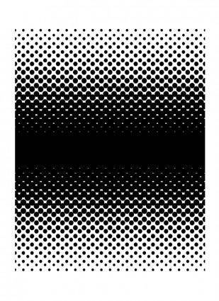free vector Halftone Gradient Large Screen 2 Way