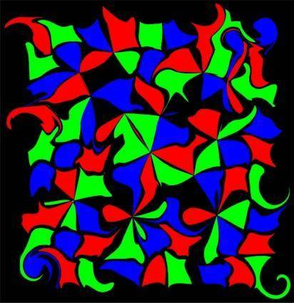 free vector RGB,RGB pattern