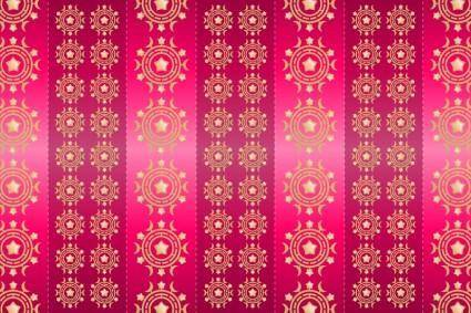 Background Pattern Fuschia