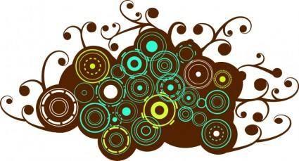 free vector Browncircles