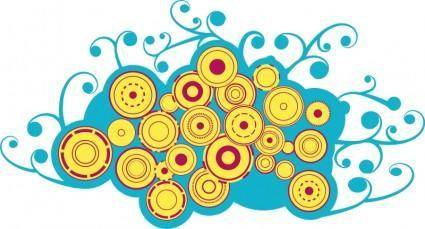 free vector Bluecircles
