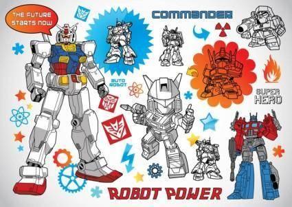 free vector Robot Vectors