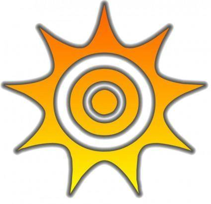 free vector Sun Glow