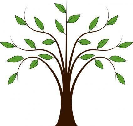 free vector Whispy Tree