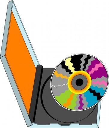 free vector Compact disk 02