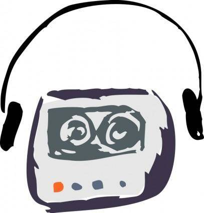 free vector Cassette Player