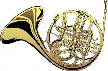 free vector French Horn