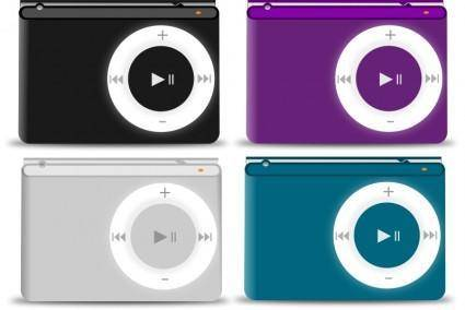 free vector Rmx iPod color