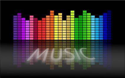 free vector Music Equalizer 5