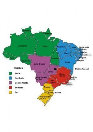 Brazil in Regions (Portuguese)