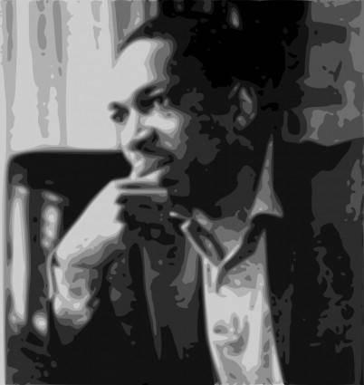 free vector John Coltrane portrait