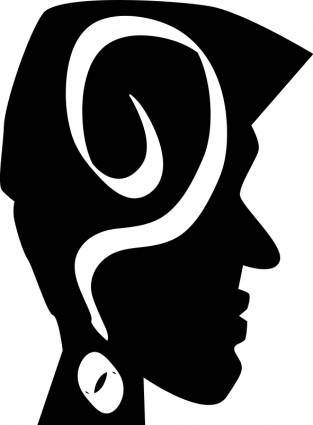 free vector BLACKHEAD,HEAD