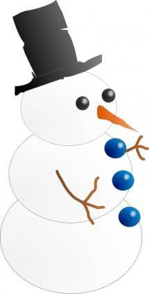 Snow-man. Hombre de nieve