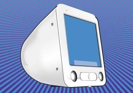 free vector Mac Computer Screen