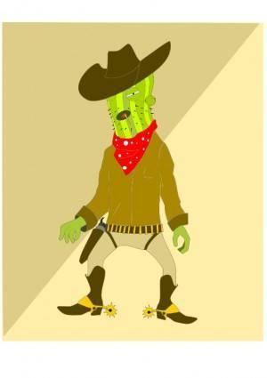 Go go Cactus man