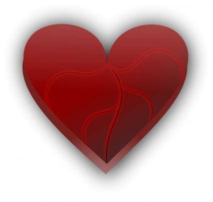 free vector Broken heart 4