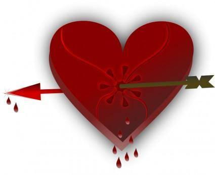free vector Broken Heart 3