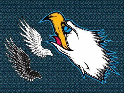 free vector Eagle Wings