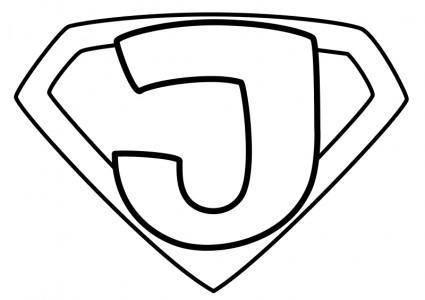 free vector Super Jesus Enhanced Outline