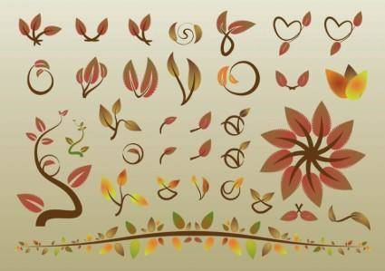 free vector Autumn Leaves Vectors