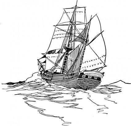 free vector Sailboat 2