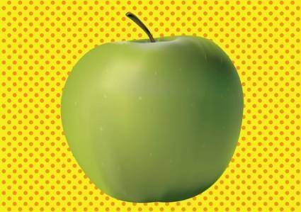 free vector 3D Apple
