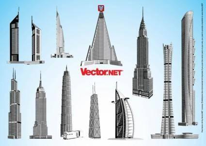 free vector Skyscraper Vectors