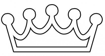 free vector Crown BW