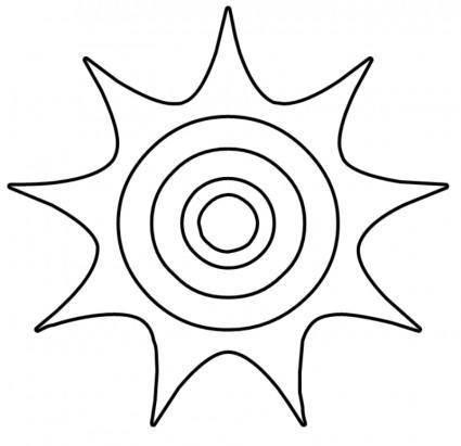 Sun BW