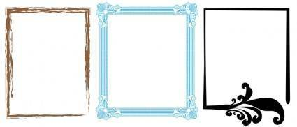 free vector Artistic Frames 1