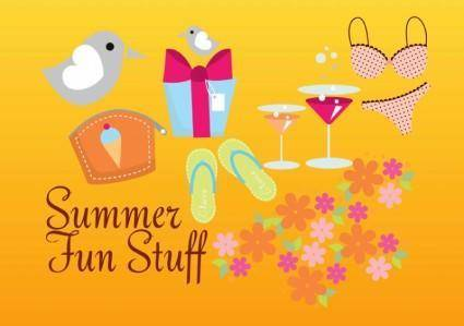 free vector Summer Vector Graphics